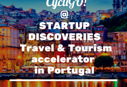 🎉 Cycligo was selected to participate in Startup Discoveries 2017!!!