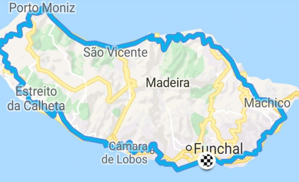 6ªF #SantaVolta Grandfondo around the Madeira island